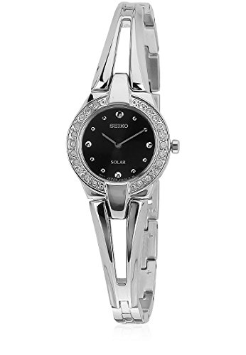 Seiko Analog Black Dial Women's Watch - SUP051P1