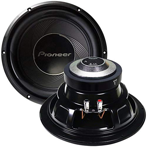 PIONEER A-Series Subwoofer (10 Inches), Black (TS-A25S4)