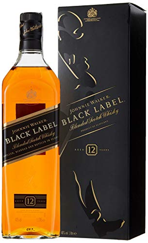 Johnnie Walker Black Label Whisky - 1000 ml