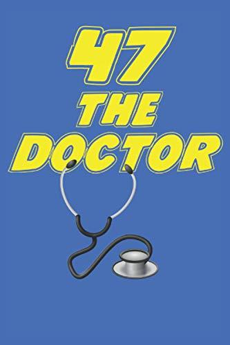 Médico portátil: Planificador |Diario |Bloc de notas |Copybook |Cuaderno con estetoscopio motivo |cuaderno rayado |Regalo perfecto para médicos y ... médico |Tamaño 6