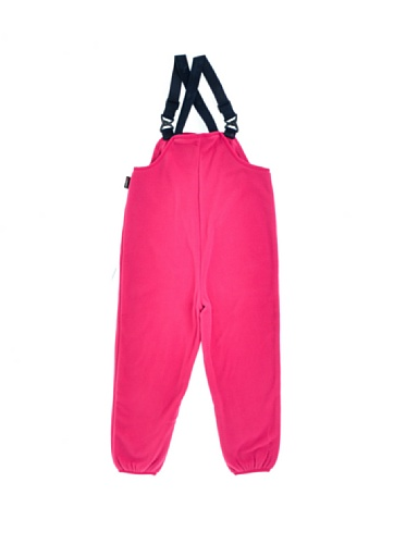 Helly Hansen K Fleece Bib–Latzhose Ski Mädchen 110 rosa - rosa