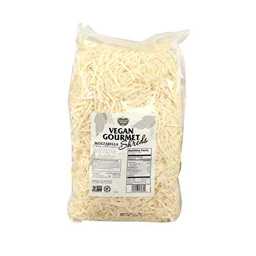 Follow Your Heart Vegan Gourmet Soy Free Mozzarella Shreds Cheese Alternative, 5 Pound -- 3 per case.