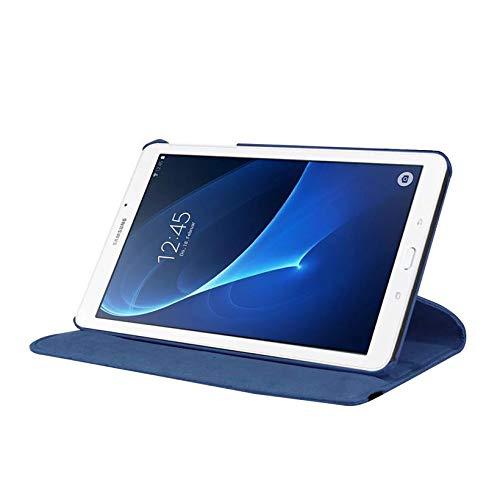 Capa Giratória Tablet Samsung Galaxy Tab A6 A7 tela 7.0' Polegadas SM-T285 T280 - Azul Escuro