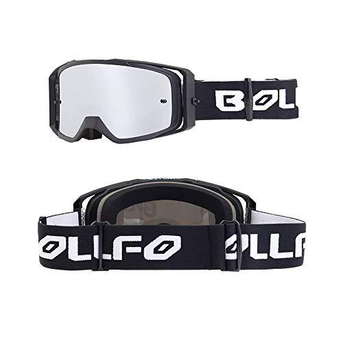 FALAMKA Motocross Brille Downhill Brille Skibrille Kinder Dreischichtiger Schaumschwamm Anti-Fog Und Anti-Ultraviolett Offroad Fahren Outdoor-Sportarten