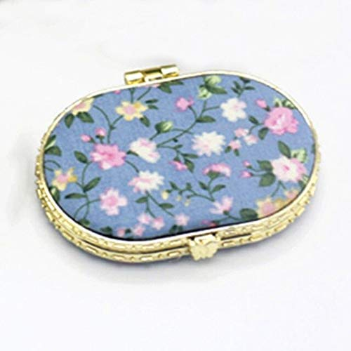 1 Piece Mini Makeup Compact Pocket Mirror BL3