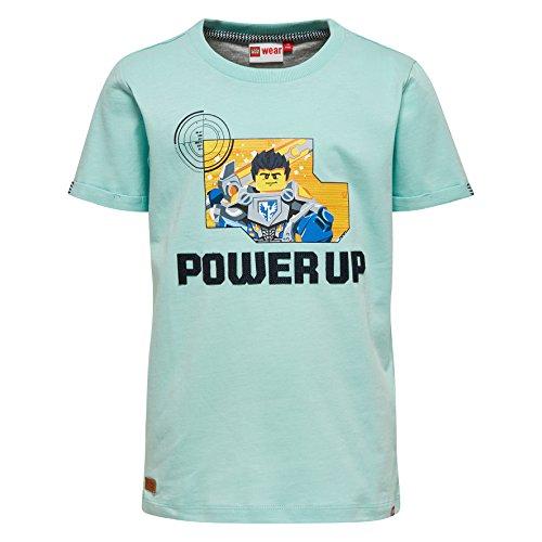Lego Wear Jungen Nexo Knights TEO 306-T-SHIRT T-Shirt, Türkis (Light Green 802), 116