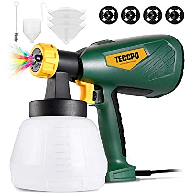 Amazon - 40% Off on Paint Sprayer,  Up to 100DIN-s, 4 Nozzles 3 Sizes & 3 Spray Patterns, High Power HVLP Electric Paint Sprayer