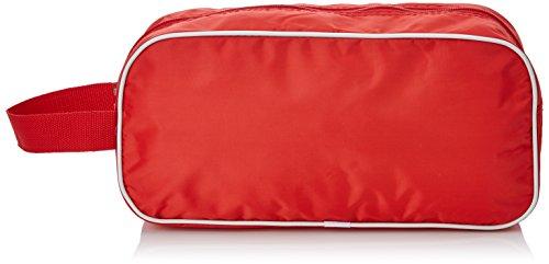 Zapatillero Rojo con Vivo Blanco
