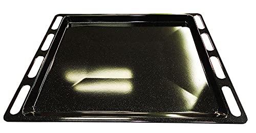 Ariston Whirlpool Hotpoint Scholtes - Leccarda teglia vassoio forno 447 x 365 mm. - C00137834-081577 - 482000022922 - Prodotto originale