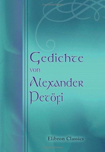 Gedichte von Alexander Petöfi