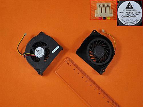 Kompatibel für Fujitsu Lifebook S760 Lüfter Kühler Fan Cooler Version 2 höhe 1,2cm