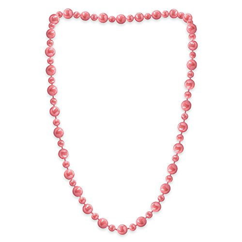 Avalaya Parure Collier et Boucles doreilles Pendantes en m/étal argent/é avec Perles de Verre Bleu Sarcelle Longueur 38 cm//Extension 4 cm