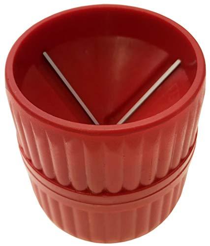 ALKAN - Innen und Aussen Entgrater für ca. 4-42 mm Kupfer-Rohr Messing-Rohr Kunststoff-Verbund-Rohr (PVC) und Aluminium-Rohr (Rohrentgrater in Profiqualität)