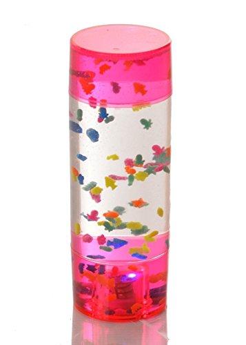 Leuchtendes Spielzeug-Aquarium, Lampe, sensorisches Lichtspielzeug, für Kinder mit Förderbedarf geeignet, Lernausrüstung, verschiedene Farben