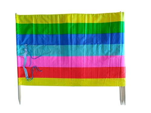 13 ft Beach Windscreen Privacy Windblocker + Free Bag Made in Europe