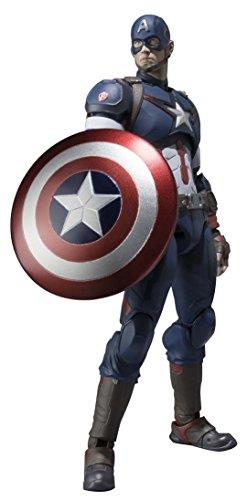 Figurine 'Avengers - Age Of Ultron' - Captain America - 15 cm [Importación Francesa]