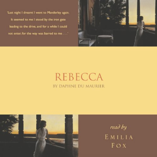 Rebecca                   By:                                                                                                                                 Daphne du Maurier                               Narrated by:                                                                                                                                 Emilia Fox                      Length: 2 hrs and 57 mins     24 ratings     Overall 4.4
