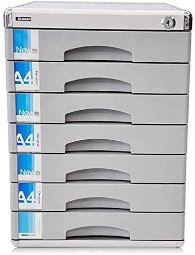 HAO KEAI Cajonera de Oficina,Archivador para Oficina Archivo Gabinete Office SuppliesFile Gabinetes Archivo Confidencialidad Gran Espacio de Almacenamiento (3 0X36X40.5CM) 12-30