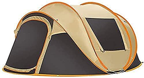 Tiendas De Campaña Refrescos Camping Family Tienda para 5-8 Persona  Tienda Instantánea Emergente Automática con Bolsa De Transporte Ligero Resistente Al Agua Y UV
