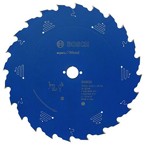 Bosch Professional Kreissägeblatt Expert für Wood (Holz, 350 x 30 x 3,5 mm, 24 Zähne, Zubehör Kreissäge)