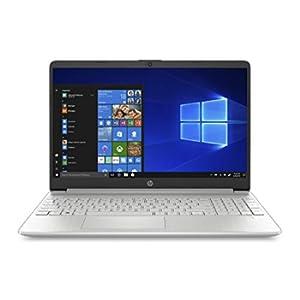 """HP 15s-fq0041nl Notebook, Intel Core i3-8130U, RAM 8 GB, SSD 256 GB, Grafica Intel UHD 620, Windows 10 Home S mode, Schermo 15.6"""" HD Antiriflesso, Micro-Edge, Lettore Micro SD, USB-C, HDMI, Argento"""