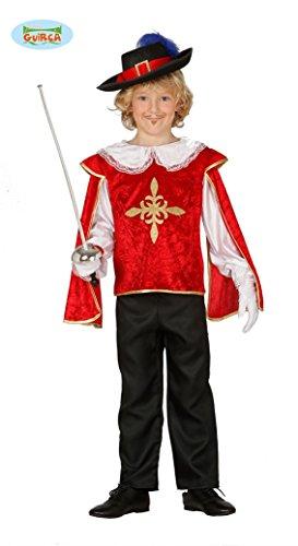 Guirca- Costume da Moschettiere Bambino 7/9 Anni, 83378