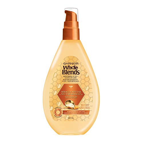 Garnier Hair Care Whole Blends Leave-in Miracle Nectar Honey Treasures Leave-In Treatment, 5 Ounces