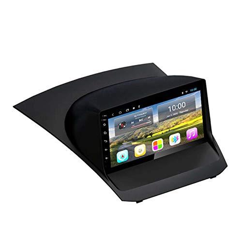 BBGG GPS 2G + 32GB Android Coche Radio Multimedia Ford Fiesta 09-17 Navegación GPS, Notificación De Voz De Varias Condiciones De Tráfico, Actualización De Mapas Gratuita(Size:09-12 Carnival)