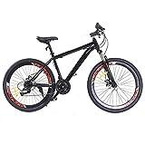 Futchoy Mountainbike 26 Zoll 21-Gang Rennrad Herren Damen Bike Erwachsene MTB Fahrrad Radsport