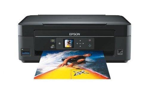 Epson Stylus SX 430W Imprimante multifonctions jet d'encre couleur 3 en 1 Wi-Fi Port USB Noir