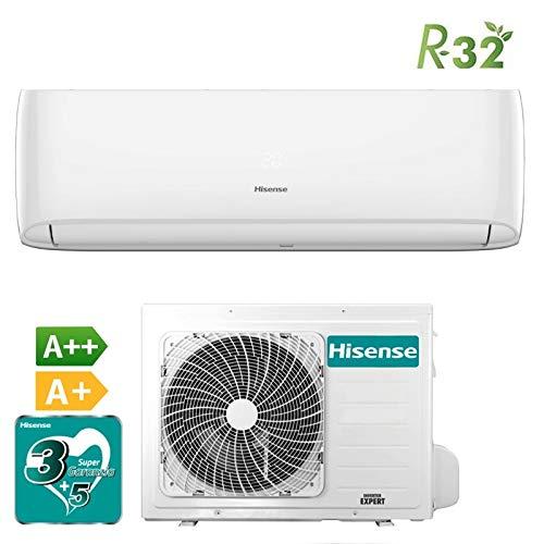 Hisense - Aire acondicionado New Eco Easy Inverter 2018 - Color blanco