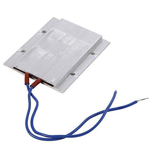 Placa calefactora de termostato PTC, 220 V eléctrica de temperatura constante Kit de calentador de aire de elemento calefactor PTC(80W 150℃)