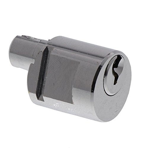 BURG-WÄCHTER Universalzylinder, Ersatzzylinder für BURG-WÄCHTER Briefkästen, Für Metallbriefkästen, Scheibenzylinder mit 2 Wendeschlüsseln, BK 92 K