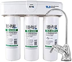Undersink Filtration Drinking Water System ULTRAfiltration 3-Stage Quick Change