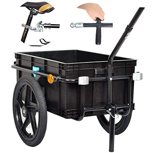 Veelar - Tiggo 20315 Carretilla/Remolque De Carga Para Bicicleta