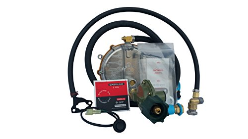 Hutch Mountain New Honda EU2200i Propane, Natural Gas & Gasoline Generator TriFuel Kit