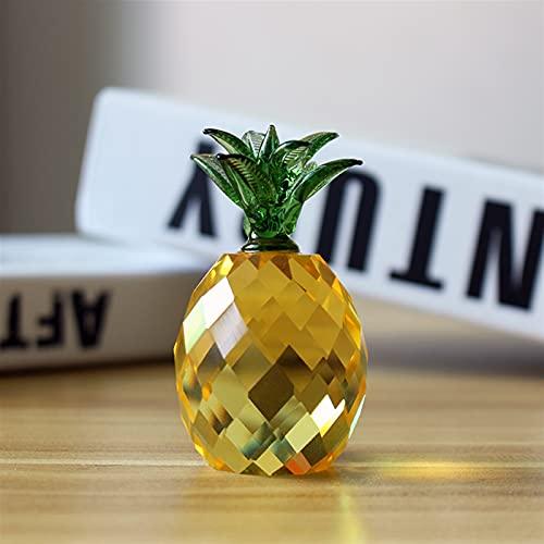 JUNLAI Crystal Piña Paper Paper Papel Fruta Modelo Modelo Oficina Inicio Decoración De Boda Accesorio Regalos De Cumpleaños (Size : 30MM)