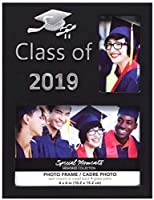 Special Moments Class of 2019 Picture Frame, 4x6 in. (Black) [並行輸入品]