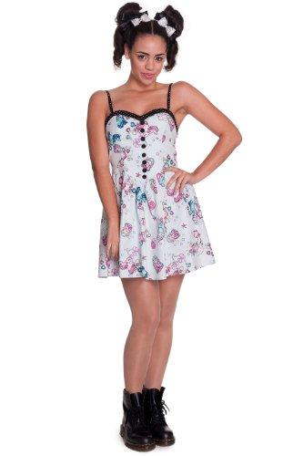 Hell Bunny - Rockabilly Kleid Super Sweet 50s Mini Dress (XS-XL) (L)