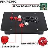 アーケードジョイスティックファイトスティックゲームコントローラー三和PS4PS3 PC HITBOX OBSF-24 OBSF-30