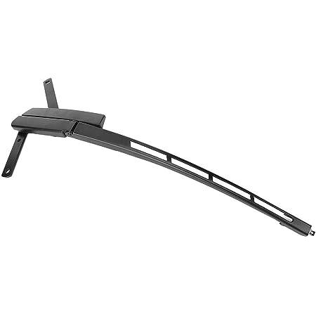 EBTOOLS Bras d'essuie-glace pour pare-brise en alliage d'aluminium, côté passager avant, avant gauche, compatible avec Q7 2007-2014, 4L1955408B