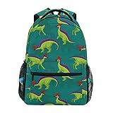 Adult Travel Backpack Cute Lambeosaurus School Casual Book Bags Lightweight Travel Daypack