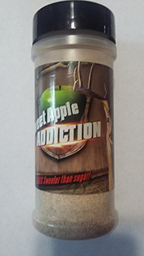 Sweet Apple Addiction: Amazing Deer & Bear Attractant, Sprinkle Over Corn or Bait, 500X Sweeter Than Sugar