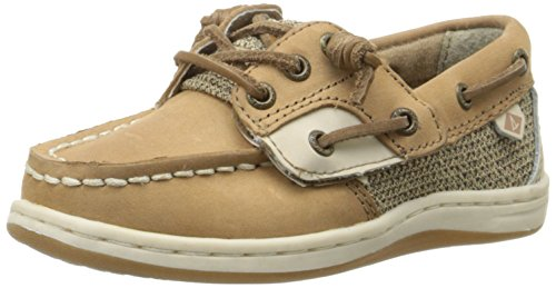 Price comparison product image Sperry Kids Girl's Songfish Jr. (Toddler / Little Kid) Linen / Oat 9 Toddler W