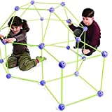 Kit di Costruzione della Tenda,Kit di Costruzione del Forte,Tenda per Bambini Fai da Te,Kit di Costruzione Giocattoli Tenda Giocattoli Costruzione Giocattoli per Il Gioco Tenda al Coperto E Allaperto