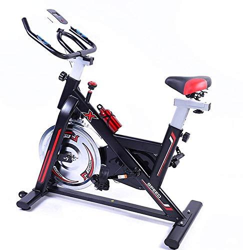 U/K SZ5CGJMY Nuova Versione Cyclette Indoor Cycling Bike Fitness stazionario Bicicletta a volano all-Inclusive con Resistenza Super silenziosa velocità infinitamente variabile Stock