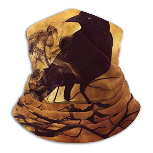VOROY Turbante facial adecuado para relojes steampunk multifuncionales al aire libre calentador de cuello cara pasamontañas diadema