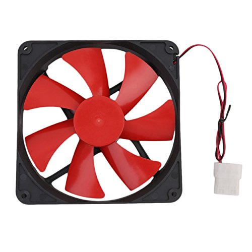 Lodenlli Ventilador de enfriamiento de computadora de PC Universal de 140MM Ventilador de enfriamiento de Caja de computadora de PC