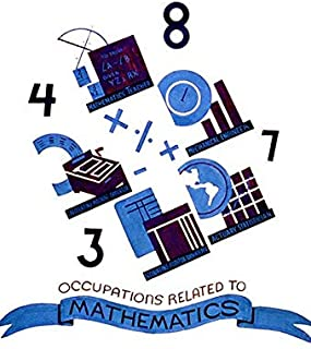 Occupations Related To Mathematics - 1938 - WPA Poster Magnet