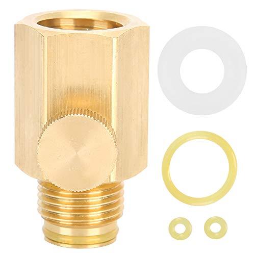 Válvula de Soda selladora Duradera Resistente a Alta presión, Adaptador de Soda, Resistente al Desgaste Conveniente para el Cilindro de Soda Soda Strea